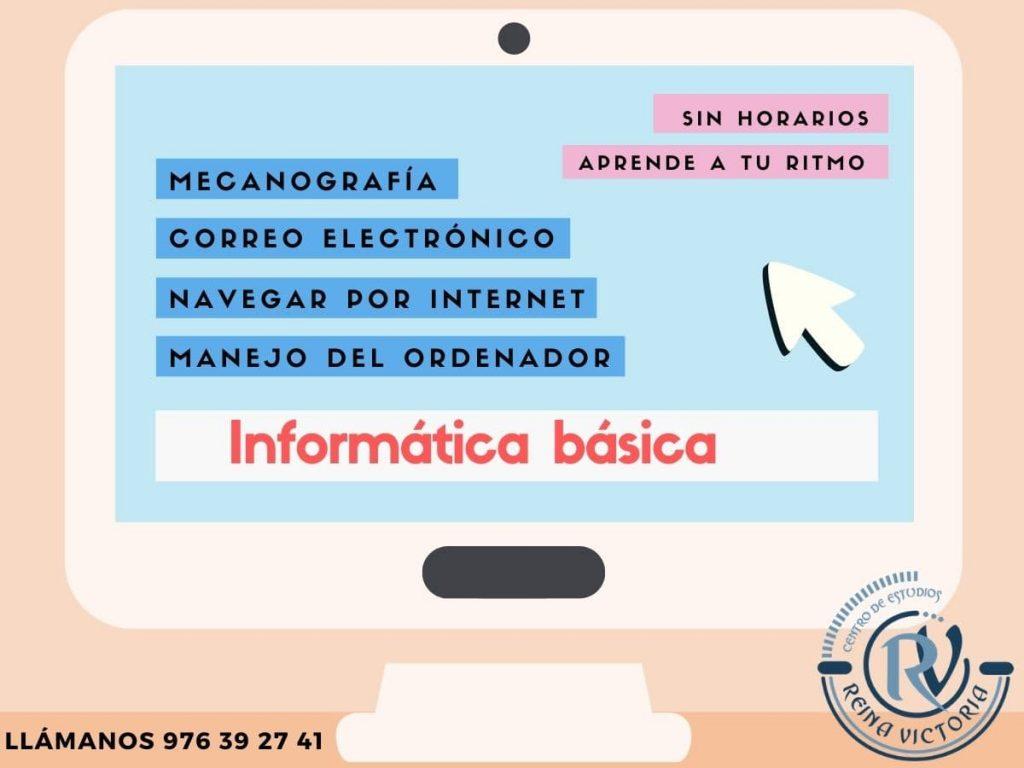 Aprender Informatica basica Zaragoza